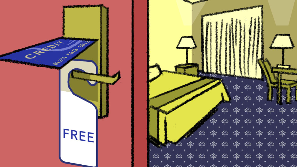 """Lifehacker.com, 2015 """"The Credit Cards That Give Your Free Hotel Stays"""""""